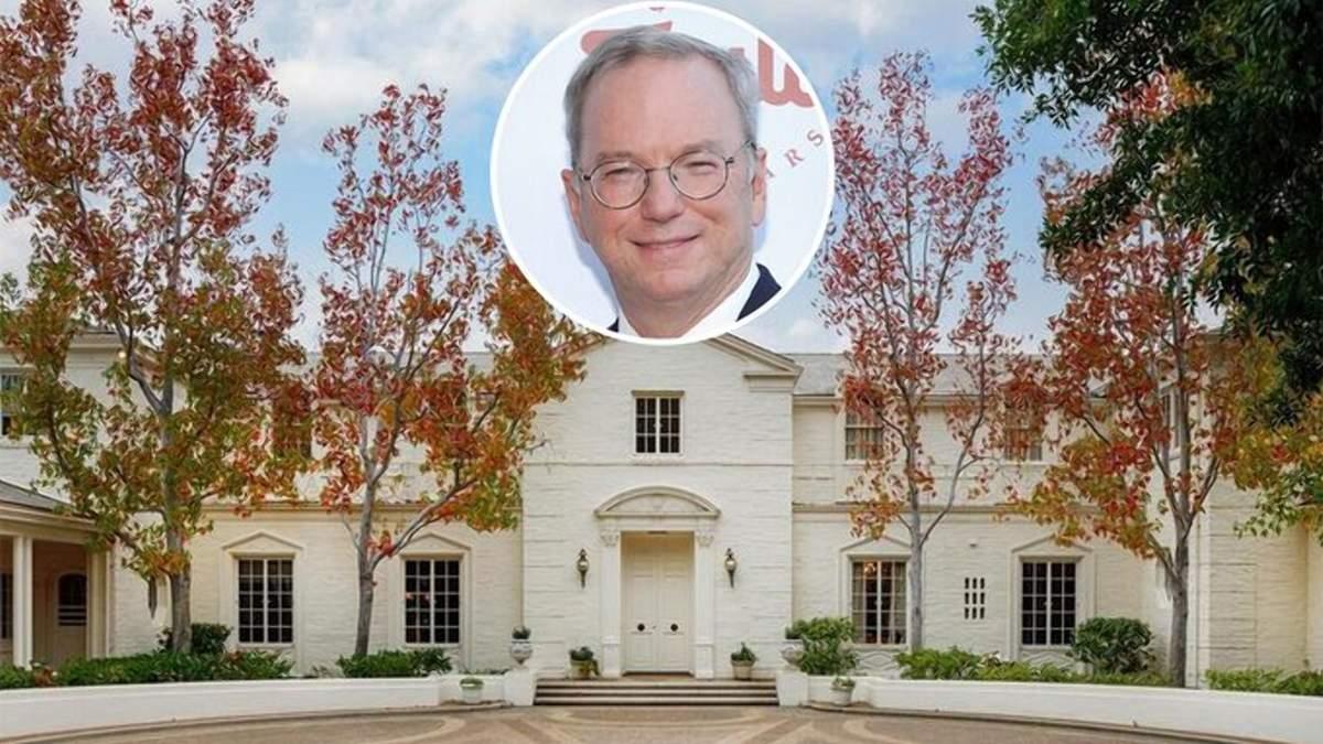 Прихоти миллиардеров: вилла бывшего генерального директора Google за 61 миллион долларов