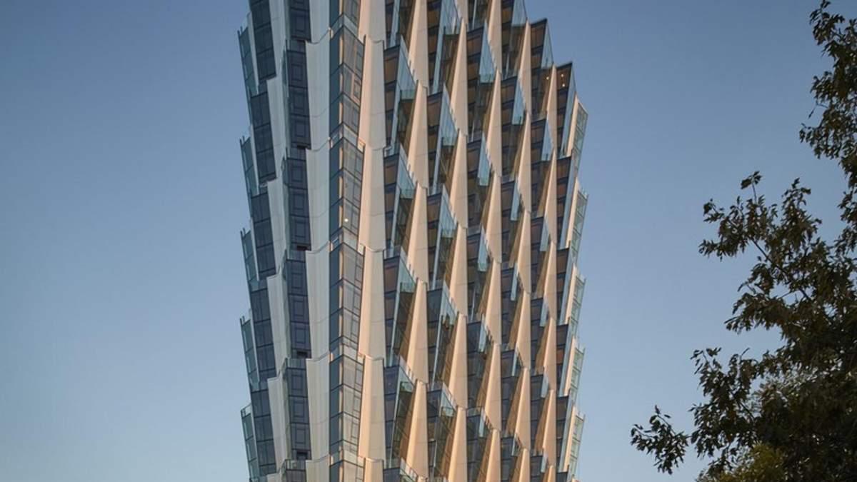 Унікальна форма та зміст: неповторна житлова вежа у США
