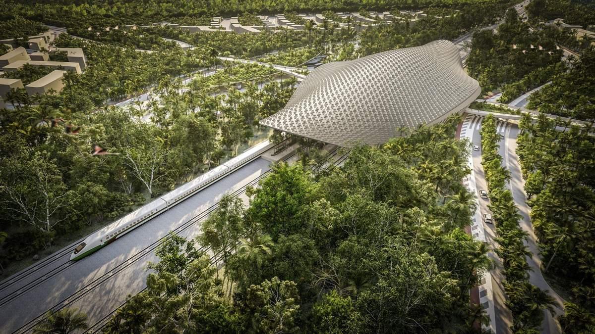 Продуманная инфраструктура: инновационный проект железнодорожного вокзала в Мексике