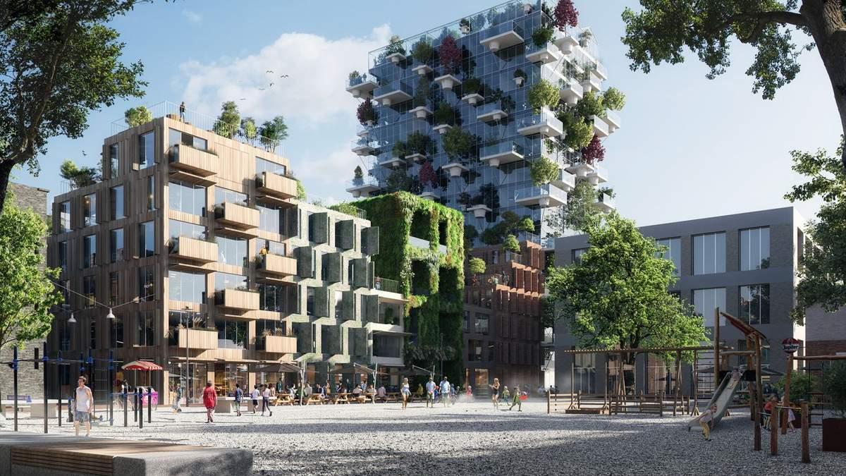 Растительность за окном: невероятный жилой комплекс в Амстердаме