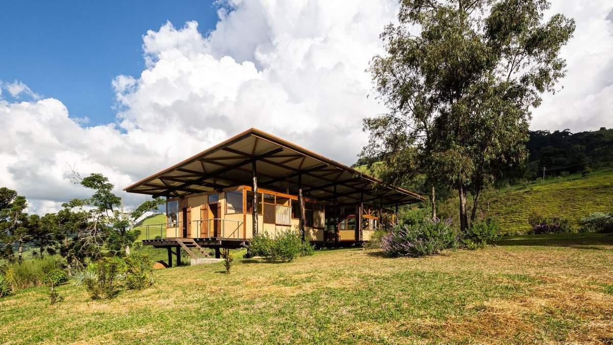 Бразильский рай: дом высоко в горах, который поражает настроением