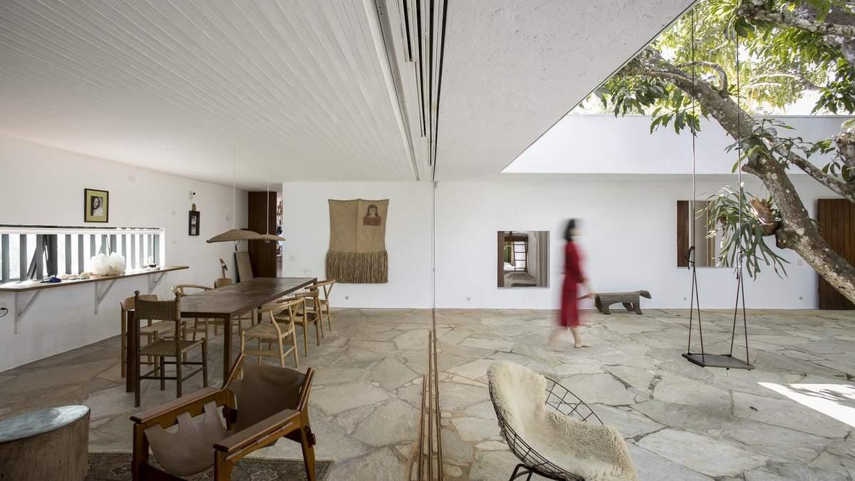 Жемчужина у парка: вилла в Бразилии, которая сочетает жилье и отель