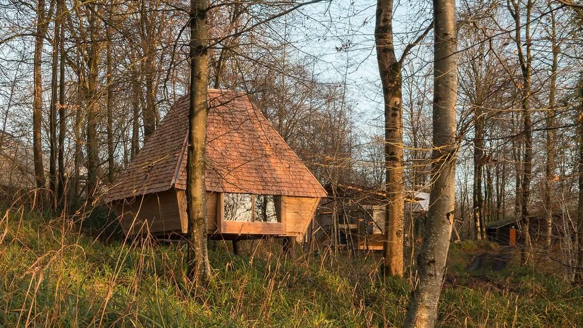 Посиденьки у лісі: як зробити затишний будиночок разом з друзями