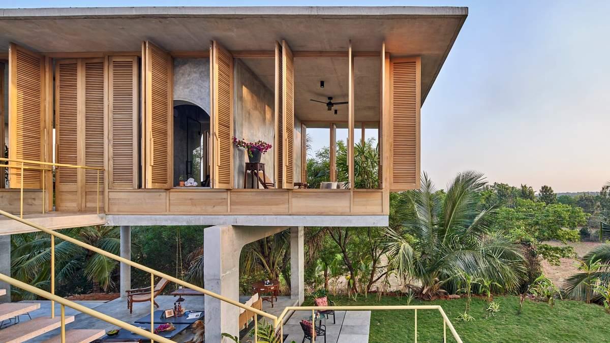 Тропическая сказка: неприхотливый семейный дом в Бангалоре