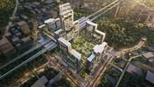 Футуристичний та зелений: в Китаї зведуть величезний транспортний хаб – фото