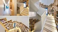 Книжная полка на весь дом: великолепный дизайн жилья для книголюбов
