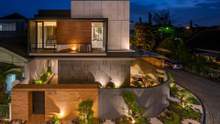 Уникальный ландшафтный проект: дзен-сад, что окутывается вокруг дома