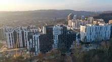 """Вид на Высокий Замок рядом с парком: во Львове открыли новый ЖК """"OBRIY 2"""""""