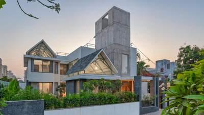 Бетонный урбанизм: великолепный дом, который впишется в любой город