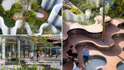 Міська інфраструктура: продуманий ландшафтний дизайн для  парку