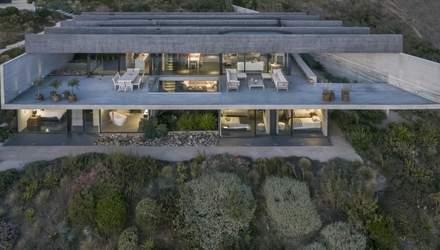 Роскошный дом на морском склоне: в Чили представили необычный проект – фото