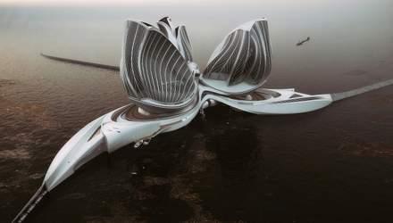 Порятунок океану: як виглядає унікальна плавуча станція для очищення води