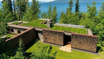 Дім мрії біля води та із зеленим дахом: у Монтані збудували унікальний дім – фото