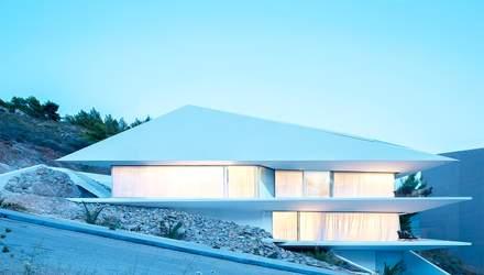 Бриллиантовый дом: впечатляющая вилла на склоне афинских гор, которая влюбляет видами