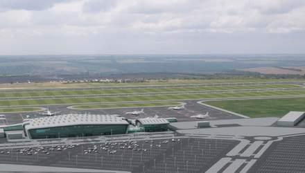В Днепре начали строить новый аэродром: обещают закончить за несколько лет
