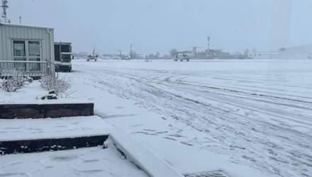 Задержка авиарейсов в Днепре: из-за непогоды больные дети с утра ждали более 6 часов