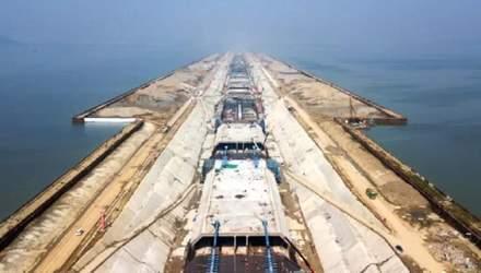 Китай строит подводный автотоннель, который станет самым длинным в стране
