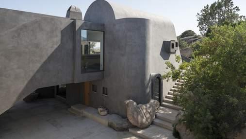 Вилла-пещера или как переделать старое жилье в современное и креативное – фото
