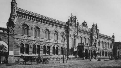 Сочетание готики и Возрождения: история здания Национального банка Украины – фото