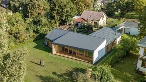Дом с четырьмя крышами: пример отличной организации пространства из Латвии: фото