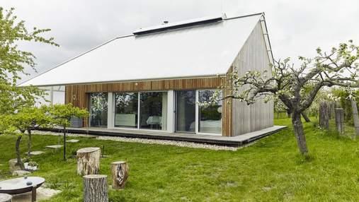 Как выглядит дом-теплица: стильный дизайн эко-дома в Чехии – фото