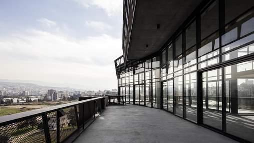 Словно боевой корабль: концепт футуристического здания в Бейруте – фото