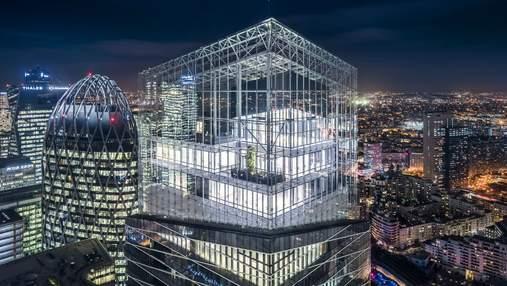 В виде человека: в центре Парижа построят современный офисный центр – фото