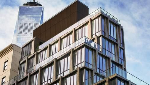 В Нью-Йорке появился современный дом, который сливается с исторической застройкой – фото