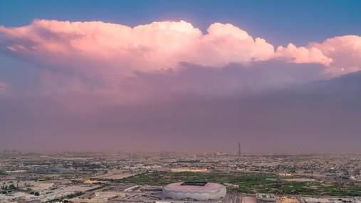 Бриллиант в пустыне: фантастический стадион из Катара к Чемпионату мира – видео