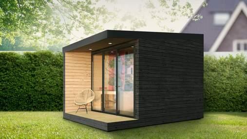 В Украине создали переносные хюге-комнаты для работы из дома – фото