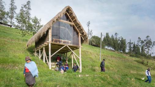 На курьих ножках: в Эквадоре студент построил себе отдаленное жилье в деревне – причина и фото