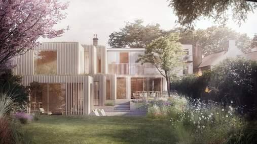 На основі попереднього плану – проєкт розширення дому британського архітектора Сегала: фото