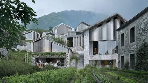 100 домов на высоте 1200 метров: в Швейцарии спроектировали шикарный курорт – фото