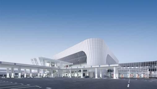 Впечатляет масштабами – архитектурный проект порта в Китае: фото и детали