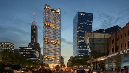 У формі трикутника: в Аргентині почали будівництво великого офісного хмарочосу – фото