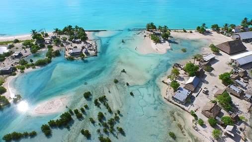 Кирибати 2.0: архитекторы разработали для жителей общины на воде – невероятные фото