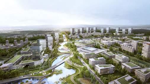 С нуля: в Южной Корее построят абсолютно новый инновационный город – фото