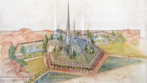 Восточный бордель: исторический проект Капитолия штата Аризона от Фрэнка Райта – фото