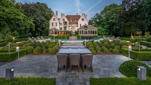 Замок среди сада с дикими цветами: в Брюгге продается волшебный дом – фото