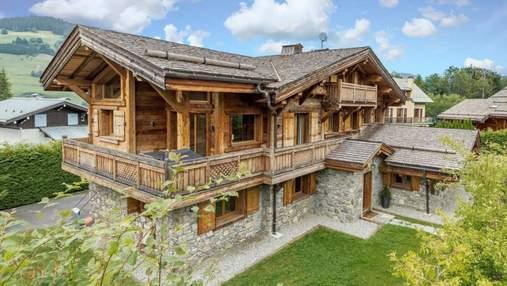 Сказочный вид на Альпы: вариант роскошного шале во французских горах – фото