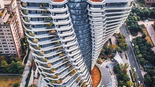 Очистка экологии: завершается строительство неслыханного жилого комплекса на острове Тайвань