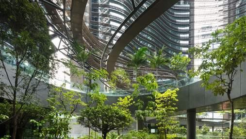 Зелений оазис у багатоповерхівці: як виглядає комплекс майбутнього у Сінгапурі