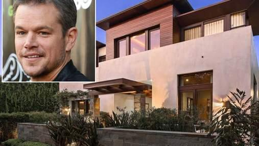 Оскароносный актер Мэтт Дэймон продал роскошную виллу в Калифорнии за 21 миллио долларов – фото