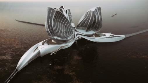 Спасение океана: как выглядит уникальная плавучая станция для очистки воды