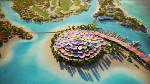 Красочный островной рай: новый курорт мечты на берегу Красного моря в Саудовской Аравии – фото