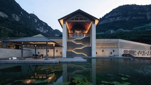 Открытость и традиционный стиль: реконструкция здания винного завода в Китае – фото