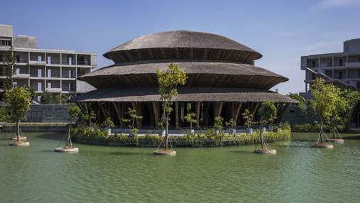 Бамбукова романтика на озері: у в'єтнамському заповіднику з'явився казковий ресторан – фото