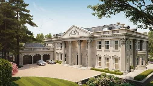 Эстетика и величие Великобритании: в графстве Суррей продается шикарный особняк