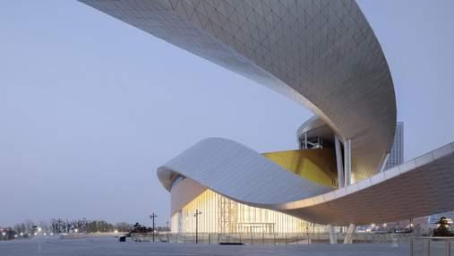 Дизайн сучасності:  у Китаї з'явилася фантастична пам'ятка культури – фото