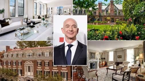 Розкішна нерухомість найбагатшої людини світу: фото володінь Джеффа Безоса на 500 мільйонів